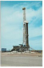 Oil Drilling Rig Titan of the Southwest New Mexico Postcard 1976 Schaaf