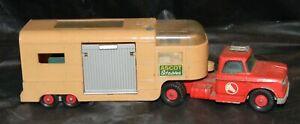 Matchbox Lesney King Size Dodge Tractor Horse Van Trailer K18