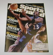 Sports Illustrated- January 14,2002!Michael Jordan, Wizards!Did You Doubt Him?