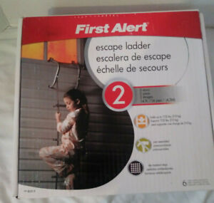 First Alert Escape Ladder 2 Story 14 Foot  New In Open Box