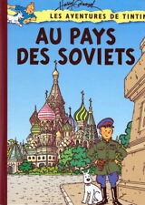 Pastiches - Parodies Tintin. Au pays des Soviets. Couv Edwood - Cartonné couleur