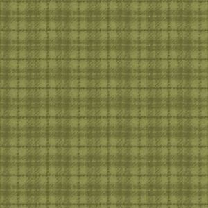 Maywood Studio Woolies Plaid Flannel Med-Light Green - MASF18502-G - 100% Cotton