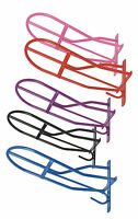 new Shires wall mounted metal saddle rack coloured for tack room