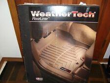 New Black WeatherTech Floorliner Front and Rear Honda Fit 2009-2013