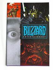 CATALOGUE JEUX BLIZZARD 1996 - STARCRAFT WARCRAFT DIABLO