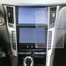 "Fits Infiniti Q50 Q60 17-18 2pc Anti Scratch Print Screen Saver Protector 8"" 7"""