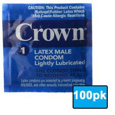 Latex Condoms Premium Thin Condom Set 100 Pack