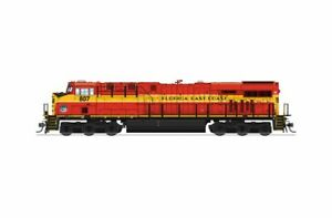Broadway Limited 5866 HO Florida East Coast GE ES44C4 Diesel Locomotive #807 NIB