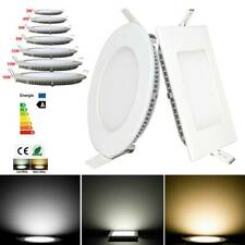 LED Recessed Ceiling Panel Light 3W-18W Down Light Ultra Slim Lamp Square/Round