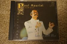 Rare Paul Mauriat  China Official release CD- Love is still Blue (silver rim)