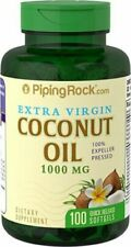 2 X EXTRA VIRGIN COCONUT OIL EXTRACT 1000 mg WEIGHT LOSS (Total 200 Soft gels)
