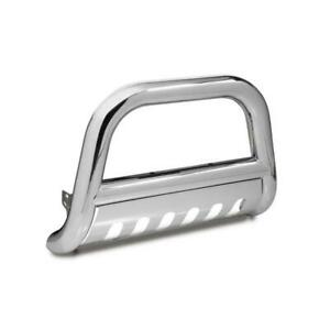 4-Inch Stainless Steel Bull Bar, 06-08 Hummer H3