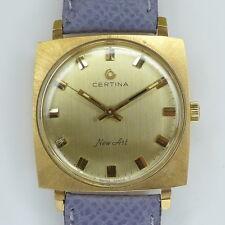 "CERTINA ""New Art"" Herren Armbanduhr Double Handaufzug - 1970er Jahre Kultuhr"