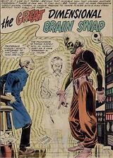 ALEX TOTH 1961 HOUSE OF SECRETS #48 ORIGINAL ART SPLASH PAGE DC COMICS CLASSIC Comic Art