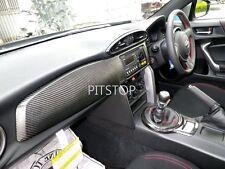 Toyota FT86 SCION FR-S GT86 86 FRS SUBARU BRZ carbon fiber dash board cover -RHD