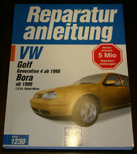 Reparaturanleitung VW Golf IV / 4 + Bora mit 1,9 l Diesel / TDI