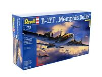 REVELL® 1:72 B-17F 'MEMPHIS BELLE' MODEL AIRCRAFT KIT BOEING B-17 MODEL  04279