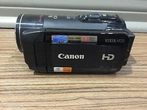Used Once Canon VIXIA HF20 (32 GB) High Definition Flash Media Camcorder