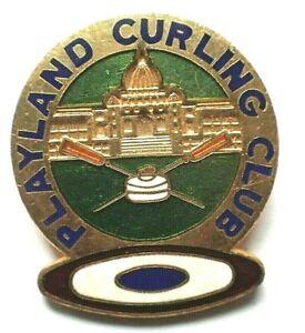 RARE Curling Club Pin - Playland Curling Club Victoria