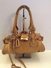 Authentic Chloe Mini Paddington. Ltd Ed Ocre (lLght Tan) Leather. Ex Cond