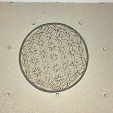 Small Flower of Life Flexible Resin Mold Sacred Geometry 35mm Diameter
