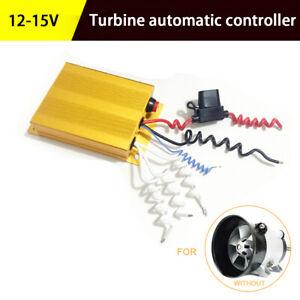 35000 RPM Electric Turbo Charger Kit Turbine Controller 12-15V Aluminum Box