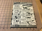 vintage original 1954 Double Sided Full page BERKELEY RADIO CONTROL HELLICOPTER