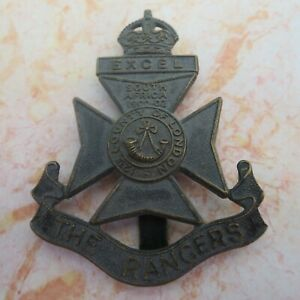 The 12th Battalion London Regiment The Rangers Army/Military Hat/Cap Badge