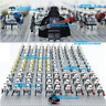 21 Pcs Minifigures Star Wars 501st Clone Trooper StormTrooper Printed Custom MOC