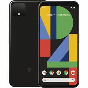 Google Pixel 4 XL G020J - 64GB / 128GB - Black, White and Orange (Unlocked)