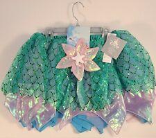 New Disney Ariel Little Mermaid Tutu Set costume Tween Girl Size 11/12