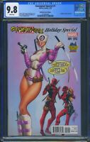 Gwenpool Special 1 (Marvel) CGC 9.8 White Pages J Scott Campbell Variant