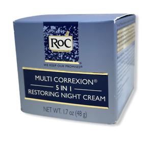 RoC Multi Correxion 5 in 1 Restoring Night Cream 1.7oz. - New - Free Shipping