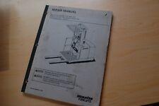 KOMATSU MPF15-1A ELECTRIC ORDER SELECTOR PICKER Repair Shop Service Manual book