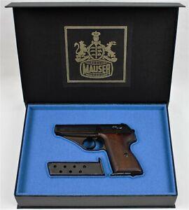 PISTOL GUN PRESENTATION CUSTOM DISPLAY CASE BOX for MAUSER HSc 7,65 mm 9mm kurz