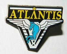 Stargate Atlantis Pegasus Shoulder Logo Enamel Metal Pin, NEW UNUSED