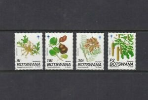 AFRICA - BOTSWANA MNH SET PLANTS SC 502 - 505 1991