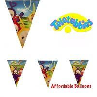 Teletubbies Birthday Party Bunting Flag Banners. Teletubbies Party Decorations