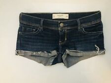 Gilly Hicks Sydney Cheeky Stretch Size 0 W25 Cutoff Cuffed Jean Shorts ✨✨✨