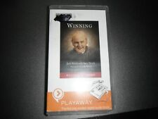 Winning by Jack Welch with Suzy Welch audio book Playaway UNABRIDGED