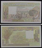 WEST AFRICAN STATES Mali (D) 500 Francs 1990 UNC