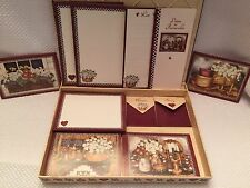 Country Home Design Stationery and Keepsake Box Note Cards Dates to Remember