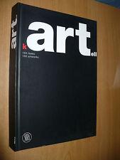 KARTELL 150 ITEMS 150 ARTWORKS 2002 SKIRA EDITRICE FRANCA SOZZANI LUCA STOPPINI