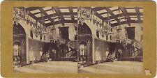 Balmoral Castle Château Ecosse UK Photo Stereo Vintage Albumine ca 1870