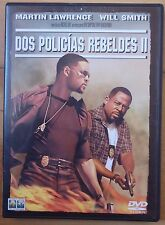 2 DVD,Dos Policias Rebeldes II.Martin Lawrence,Will Smith