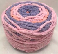 CARON Big Cakes? Pink Purple Peach Skein Yarn 10.5oz 300g Vtg NEW RARE