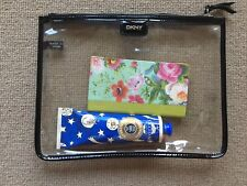 DKNY Transparent/ See Through Clutch Bag Purse Excellent Condition RRP £148! NEW