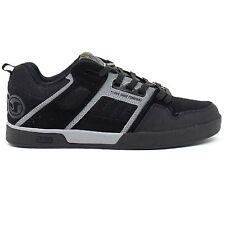 DVS Comanche 2.0+ Trainers Shoes Black Grey Nubuck