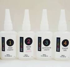 Nugenesis Dipping System Essentials Liquid Refill size 2oz (Choose Your Liquid)