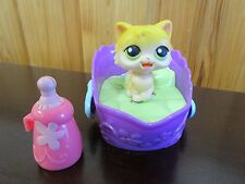 LPS Licking Cat, Bed, Bottle - Works great